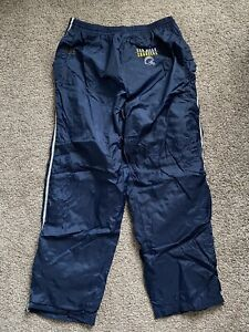 vintage san diego chargers track pants large NFL BLUE Polyester