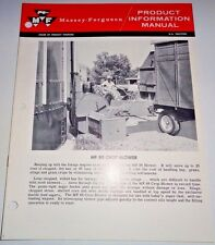 Massey Ferguson MF 88 Crop Blower Product Information Manual Sales Catalog