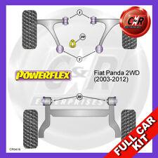 Fiat Panda 2WD (03-12)  Lower Torq Mount Fast Road/Track Powerflex Full Bush Kit