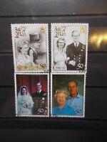 Isle of Man 1997 Commemorative Stamps~Golden Wedding~ Fine Used Set~UK Seller