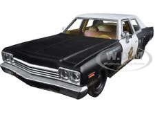 "1974 DODGE MONACO BLUESMOBILE ""THE BLUES BROTHERS"" MOVIE 1/24 GREENLIGHT 84011"
