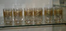Moroccan gold tea glasses - Moroccan tea glasses gold -Moroccan gold teaglasses