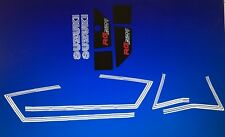 SUZUKI RG250 X7 250 GT250 GT250E RESTORATION DECAL SET BLUE MODEL