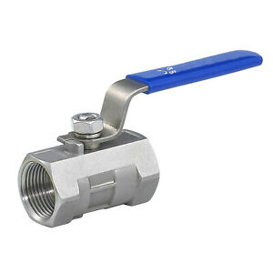 "HFS(R) Female Npt Ball Valve - Stainless Steel 304 - 3/8"" Female Npt"