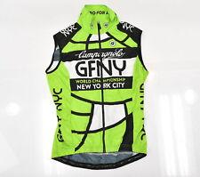 Gran Fondo New York GFNY Women's Medium Cycling Wind Vest Green/Black