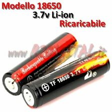 BATTERIE 18650 3,7v 6800mAh RECHARGEABLE LI-ION LED FLASHLIGHT PUISSANCE BANQUE