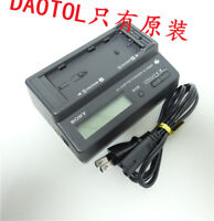 SONY Original AC-VQ800 Battery Charger for NP-F000 NP-FM30 V700 F550 VM10 USED