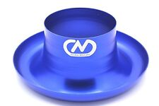 """Air Inlet Polished Alloy Ram Pipe Air Inlet Intake Funnel Duct - 76mm (3"""") Blue"""