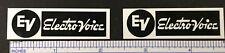 EV Electro-Voice ElectroVoice Speaker Badge Logo Emblem