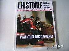 **a L'Histoire n°183 L'aventure des Catgares / 1940 : Les Fr à l'heure Allemande