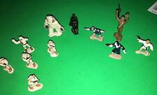 Lot of 11 Star Wars Micro Machines metal figures 1982 - Hoth & Death Star