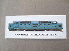 BOOKMARK English Electric Prototype DELTIC Locomotive Railway Train Spotters
