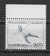 Denmark , 1982, World Figure Skating Championship, Sports , 2k Stamp, Perf , Mnh
