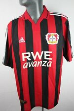 Bayer 04 Leverkusen 2001 2002 Home Adidas Football Shirt Trikot Mens Large F624