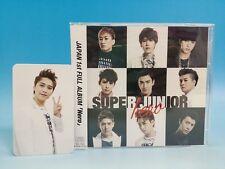 CD+DVD+Photo Card SUPER JUNIOR JAPAN ALBUM Hero E.L.F Limited Edition SungMin