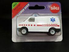 Siku Rettungswagen Rescue Van Ambulance Diecast Car 1:55  0835