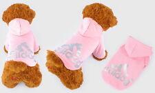 Small & Large Pet Dog Dogs Adidog Warm Clothes Coat Jacket Shirt Hoodie Apparel