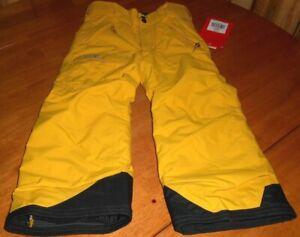 THE NORTH FACE $110 Boys Size XXS  5 Snow Freedom Winter Ski Pants Waterproof