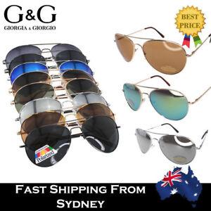 Hot Men Women Aviator Sunglasses / Polarized Lens Available Driving Fishing