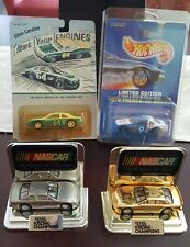 HOT WHEELS  NASCAR SET REFLECTIONS IN GOLD AND SILVER  , ELMO LANGLEY , AC DELCO
