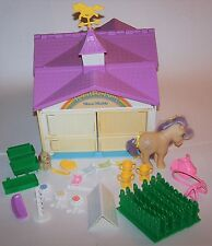 Vintage G1 My Little Pony Show Stable Playset with Lemon Drop and Accessories