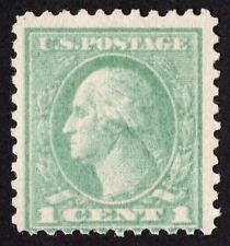 US # 525d *MINT OG NH* { DOUBLE IMPRESSION } 1c WASHINGTON OFFSET PRINTING 1917