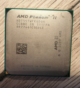 AMD Phenom II X6 1055T (6x 2.80GHz) HDT55TWFK6DGR CPU Sockel AM3