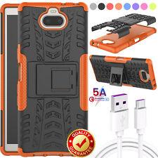 For Sony Xperia 10 XA3 XA2 XA1 Plus/L1/XZ 3 2 Shockproof Case+One Cable 3ft