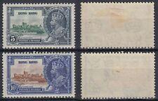 Hongkong 1935 * Mi.133/34 MLH, Thronjubiläum King George [sq7493]