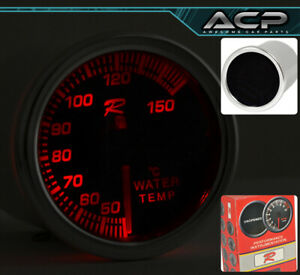 "Engine Water Temperature Gauge Analog Display 2"" 7 Color Display For Mustang GT"