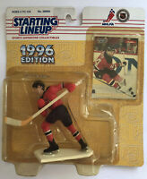 STEPHANE RICHER - New Jersey Devils - Starting Lineup SLU NHL 1996 Figure & Card