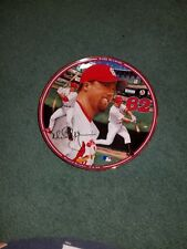 """1998 Mark McGuire """"Record Breaker"""" Autographed Collector Plate"""