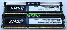 Corsiar XMS3 8GB 2x4GB DDR3-1600 CMX8GX3M2A1600C9 ver5.11 DIMM 240p Desktop RAM