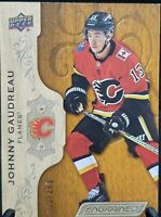2018-19 Upper Deck Engrained #8 Johnny Gaudreau RC Flames 083/299