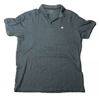BANANA REPUBLIC Men's Blue Short Sleeve Polo Shirt Elephant Logo Size XL