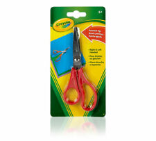 "Crayola ""Pointed Tip"" Scissors, age 6+, red, NEW"
