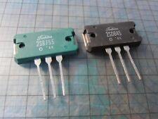 2SD845 + 2SB755     NPN+PNP  Power  Transistors MT-200 TOSHIBA
