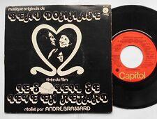 BEAU DOMMAGE Le soleil de lève...P/S (MICHEL TREMBLAY) QUEBEC 1977 OST 45 EP
