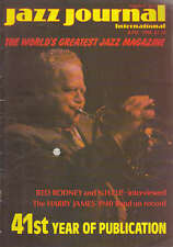 JAZZ JOURNAL MAGAZINE 1988 JUN RED RODNEY & N.H.O.P, HARRY JAMES 1940 BAND
