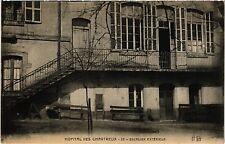CPA Lyon-Hopital des Chartreux, Escalier Extérieur (426523)