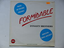 "MAXI 12"" DYNASTY BROTHERS Formidable 810743 1 PROMO"