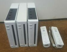 3 x Nintendo Wii Consoles 2 x Controllers Spares Repair Faulty