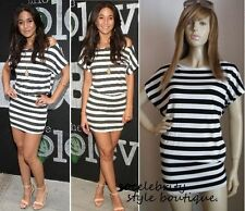 Casual Striped Batwing Dresses for Women
