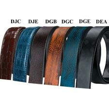 Genuine Leather Belts for Men Lot Fashion Ratchet Belt Strap Only without Buckle