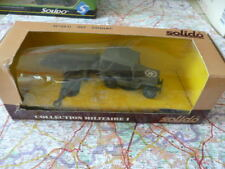 Jeep Willys + Zodiac US Army Militaire Ancien SOLIDO en boite