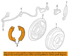 MITSUBISHI OEM 97-04 Montero Sport Parking Brake-Shoes MR178826
