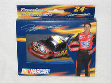 NEW Nascar Jeff Gordon #24 Two Deck Playing Cards In Collectible Tin Set DUPONT