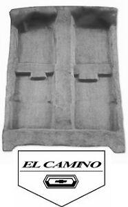 El Camino Molded Carpet Kit 68 69 70 71 72 Chevrolet SS
