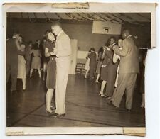 1940S HIGH SCHOOL DANCE IN GYM MAYBE FROM PGH/CONNIES PHOTO ALBUM