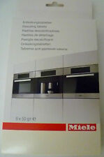 6 GENUINE MIELE DESCALING TABLETS FOR MIELE STEAM IRONING SYSTEMS 05626050